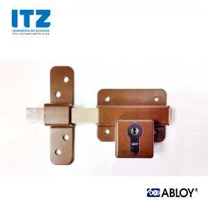 Cerrojo sobreponer DIN ABLOY para amaestramientos de llaves