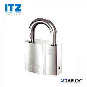 Candado grado seguridad 2 ABLOY de 50 mm. para amaestramientos de llaves