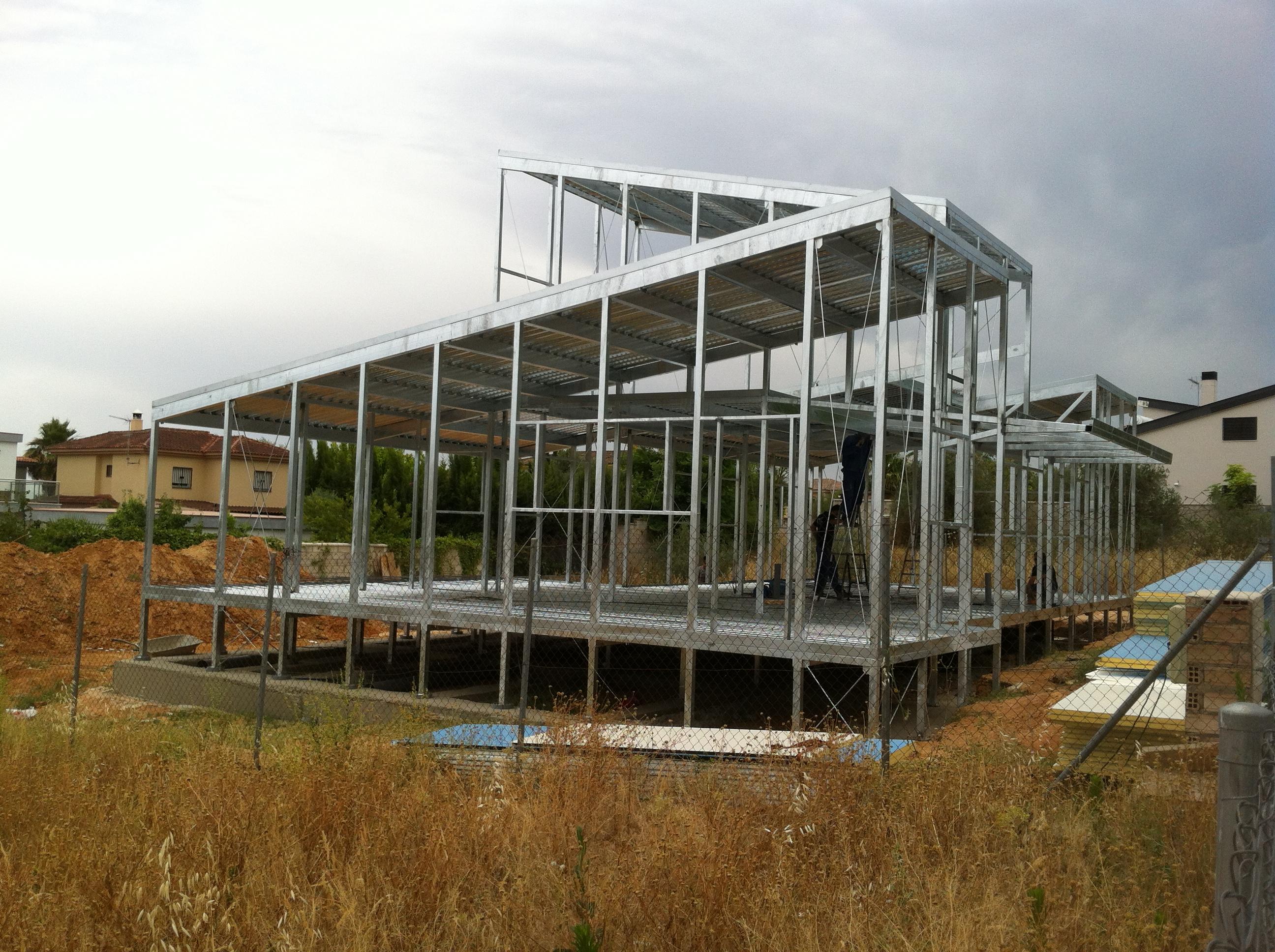 Construcción Metálica en Sevilla
